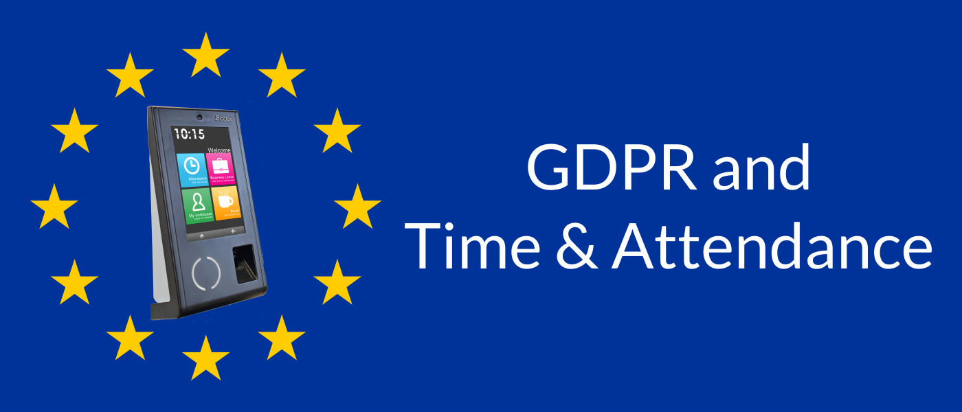 Time & Attendance and GDPR